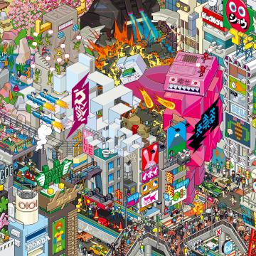 Pixel voor pixel