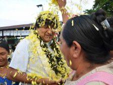 Evo Morales is niet gekomen om te vertrekken