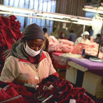 De textielindustrie in Lesotho ligt aan het infuus