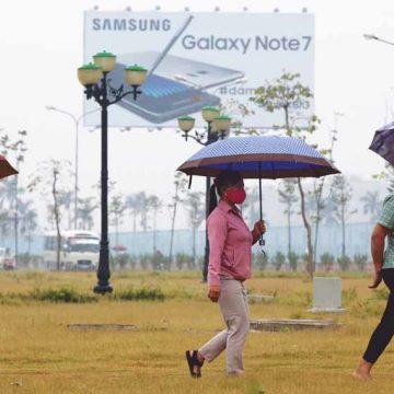 De mythe van Samsung  gaat in rook op