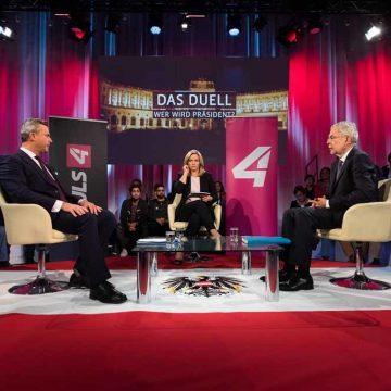 Hillary Van der Bellen en Donald Hofer