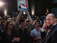 Kan autodidact Schulz Merkel verslaan?