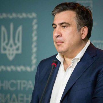 Showman Mikheil Saakashvili is terug