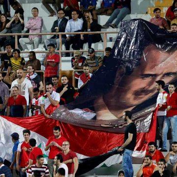 Voetballen voor Assad?