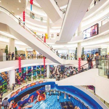 De shoppingmall is koning in Siam