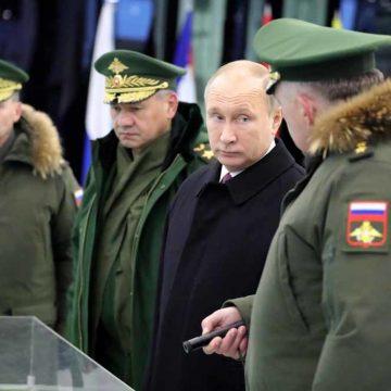 'Nu zijn we dus weer een militaire grootmacht'