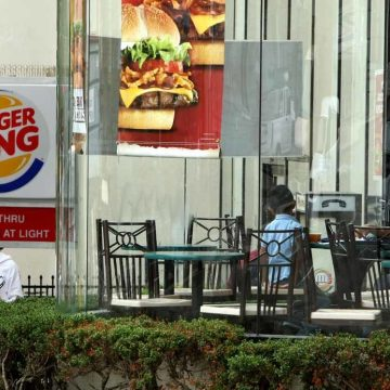 Bach in de Burger King