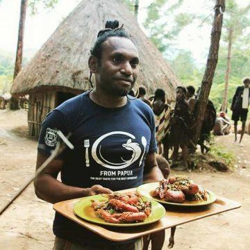 De chef die de Papoea-keuken op de kaart zette