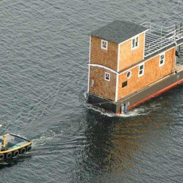 In Seattle verkassen zelfs de huizen