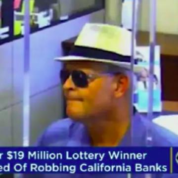 Meervoudig miljonair wordt bankovervaller
