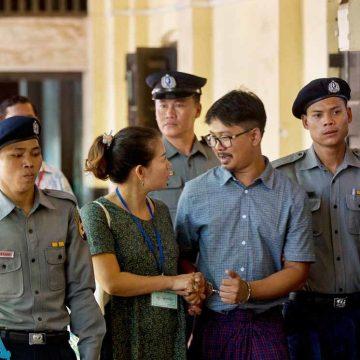 Myanmar maakt erezaak van arrestatie journalisten