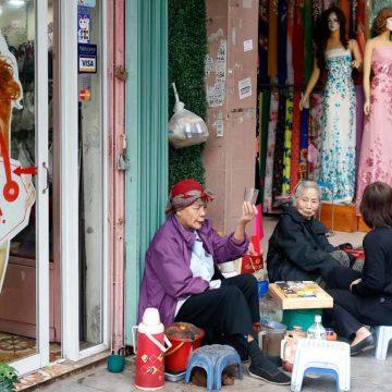 Vietnam wordt oud voordat het rijk is