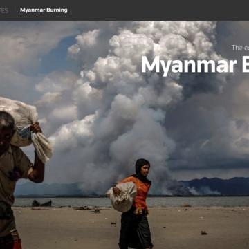 Tot zover de persvrijheid in Myanmar