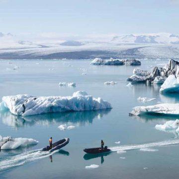 Groenland zoekt autonomie met verkoop gebottled smeltwater