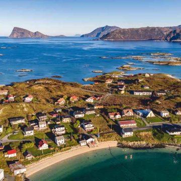 Bevrijd van de tijd in Sommarøy