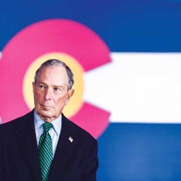 Michael Bloomberg valt Trump aan op de inhoud