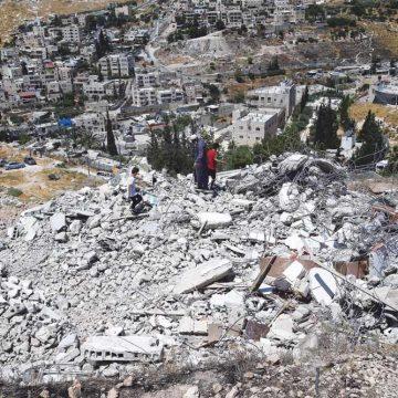 Palestijnse inwoners Jeruzalem moesten zelf hun huizen afbreken