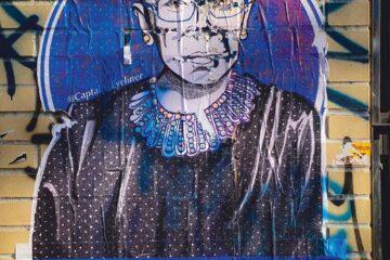 De overleden Ruth Bader Ginsburg | Jon Tyson / Unsplash
