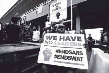 Demonstranten in Lagos | Foto: Nengi Nelson, Unsplash