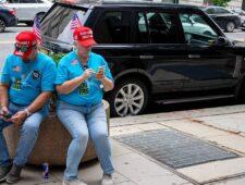 Sociale kanalen weren massaal Donald Trump