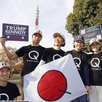 Wat beweegt 'J-Anon', het Japanse antwoord op QAnon?