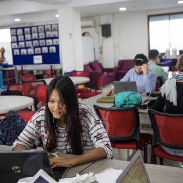 In Myanmar help je elkaar, maar niet de moslims