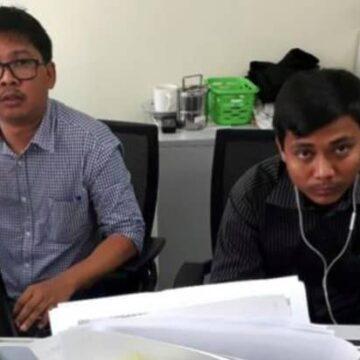 Deze journalisten zitten vast omdat ze de moord op Rohingya's onderzochten