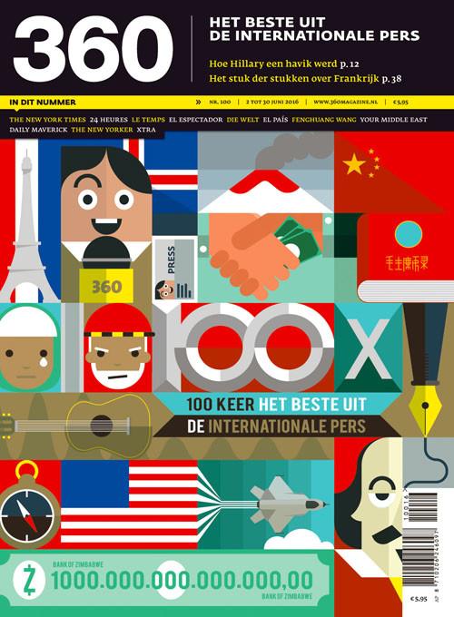 360 Magazine editie 100 | 100 x het beste uit de internationale pers