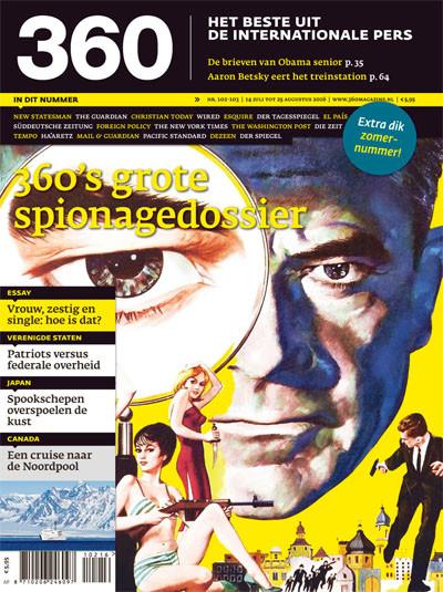 360 Magazine editie 102 | 360's grote spionagedossier