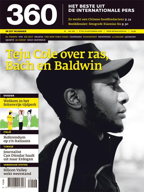 360 Magazine editie 105 | Teju Cole over ras, Bach en Baldwin