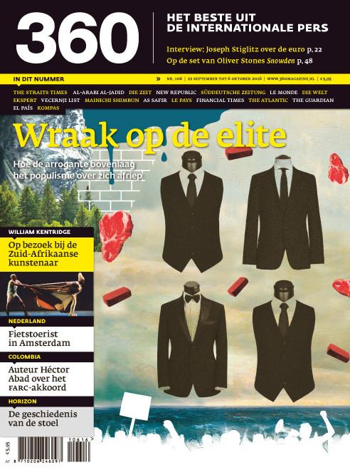360 Magazine editie 106 | Wraak op de elite