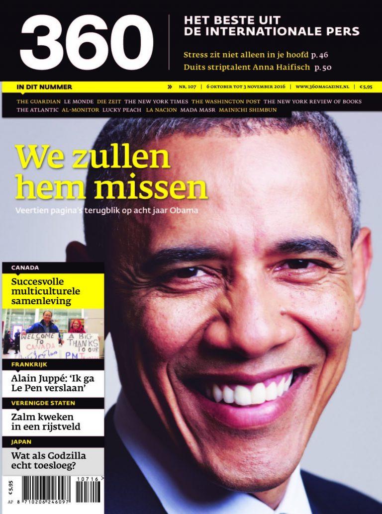 360 Magazine editie 107 | We zullen hem missen