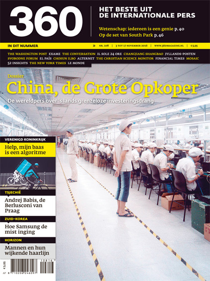 360 Magazine editie 108 | China, de Grote Opkoper