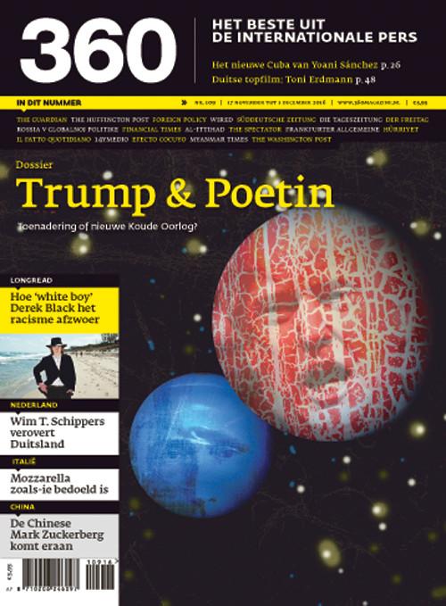 360 Magazine editie 109 | Trump & Poetin