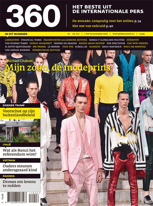 360 Magazine editie 110 | Mijn zoon, de modeprins