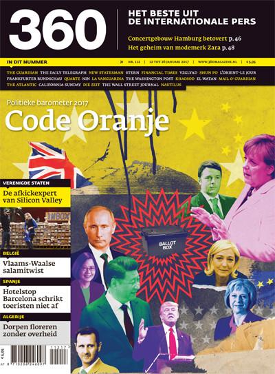 360 Magazine editie 112 | Politieke barometer 2017 – Code Oranje