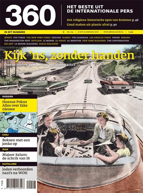 360 Magazine editie 114 | Kijk 'ns, zonder handen