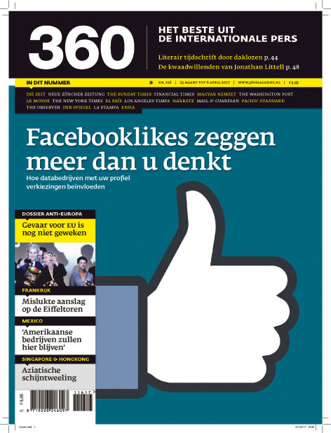 360 Magazine editie 116 | Facebooklikes zeggen meer dan u denkt