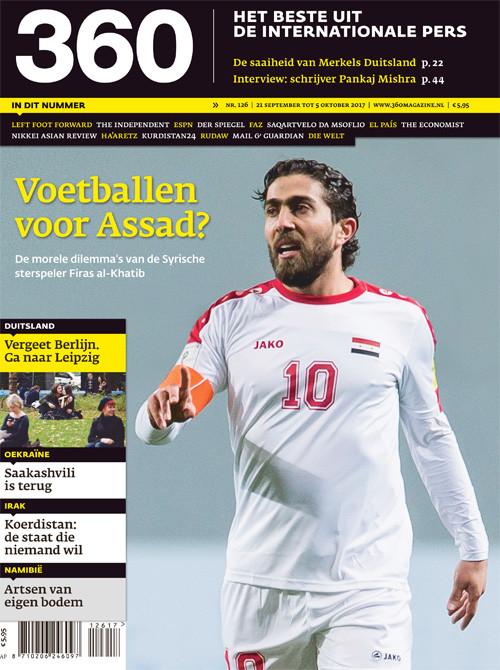 360 Magazine editie 126 | Voetballen voor Assad?