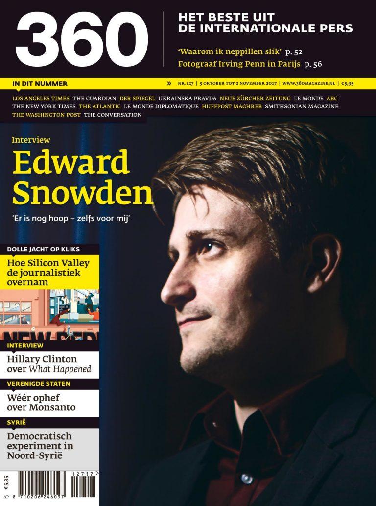 360 Magazine editie 127 | Edward Snowden