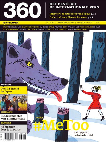 360 Magazine editie 134 | #MeToo. Niet opgeven, ondanks de kritiek