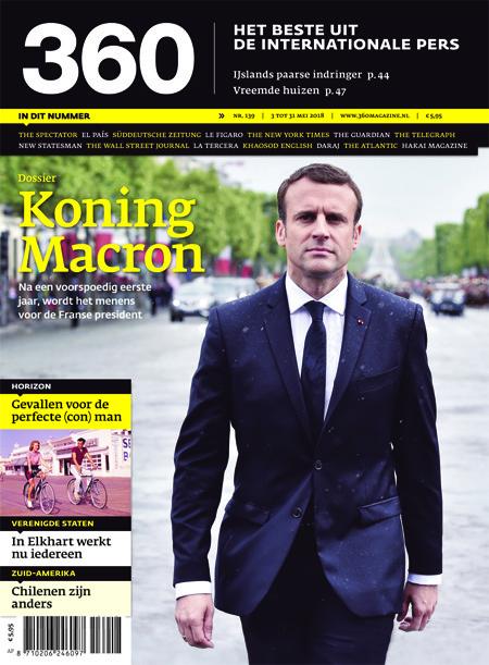 360 Magazine editie 139 | Koning Macron