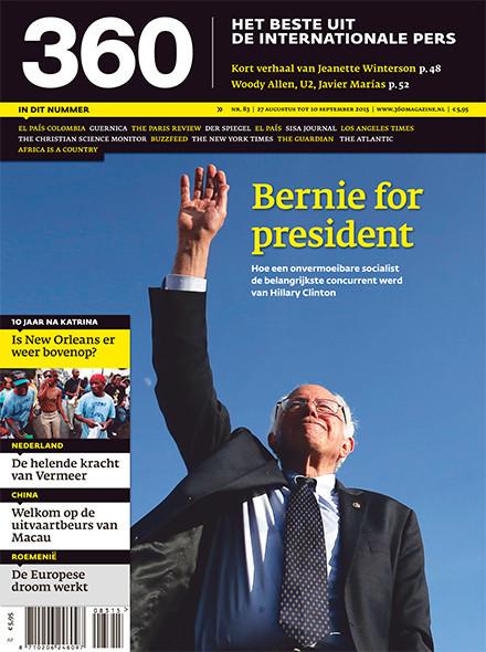 360 Magazine editie 83   Bernie for president