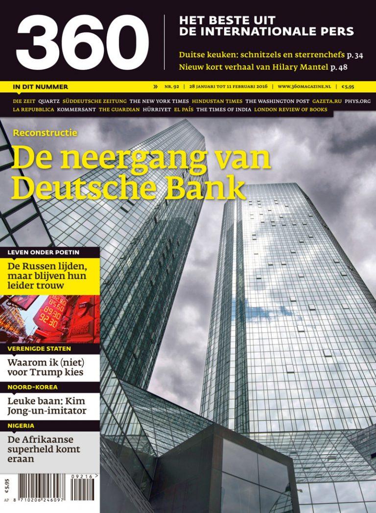 360 Magazine editie 92 | De neergang van Deutsche Bank