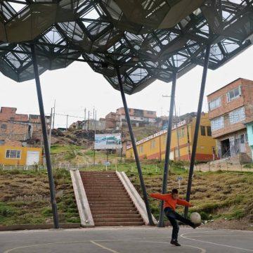 De overheid bemoeit zich al niet meer met deze Colombiaanse barrio