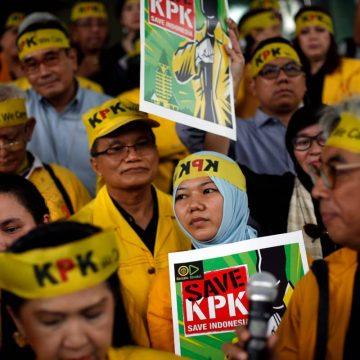 Anticorruptieonderzoekers in Indonesië worden tegengewerkt