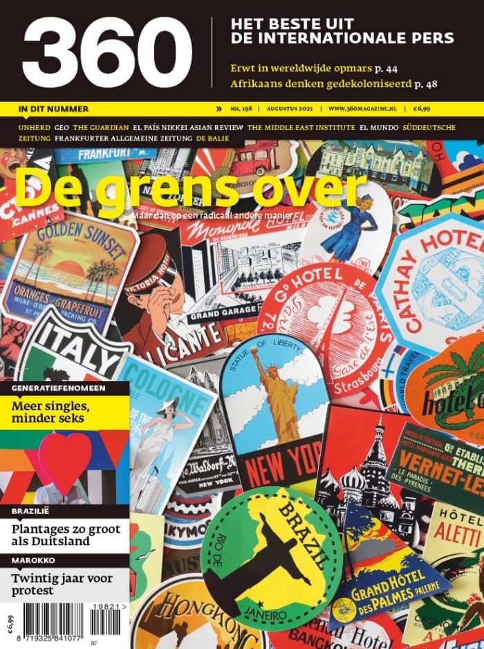360 Magazine editie 198 | De grens over