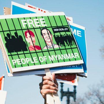 'In Myanmar betalen we elke dag de prijs voor de vrijheid die we opeisen'