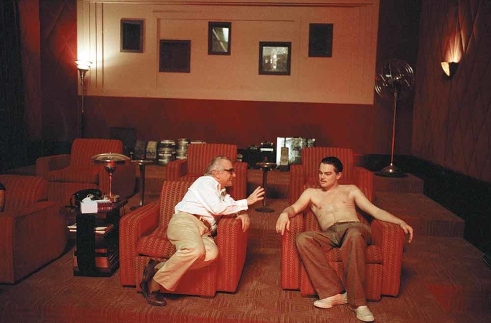 Met Daniel Day-Lewis op de set van The Age of Innocence; met Leonardo DiCaprio op de set van The Aviator; met Cybill Shepherd; op de set van Alice Doesn't Live Here Anymore en met Jack Nicholson op de set van The Departed.