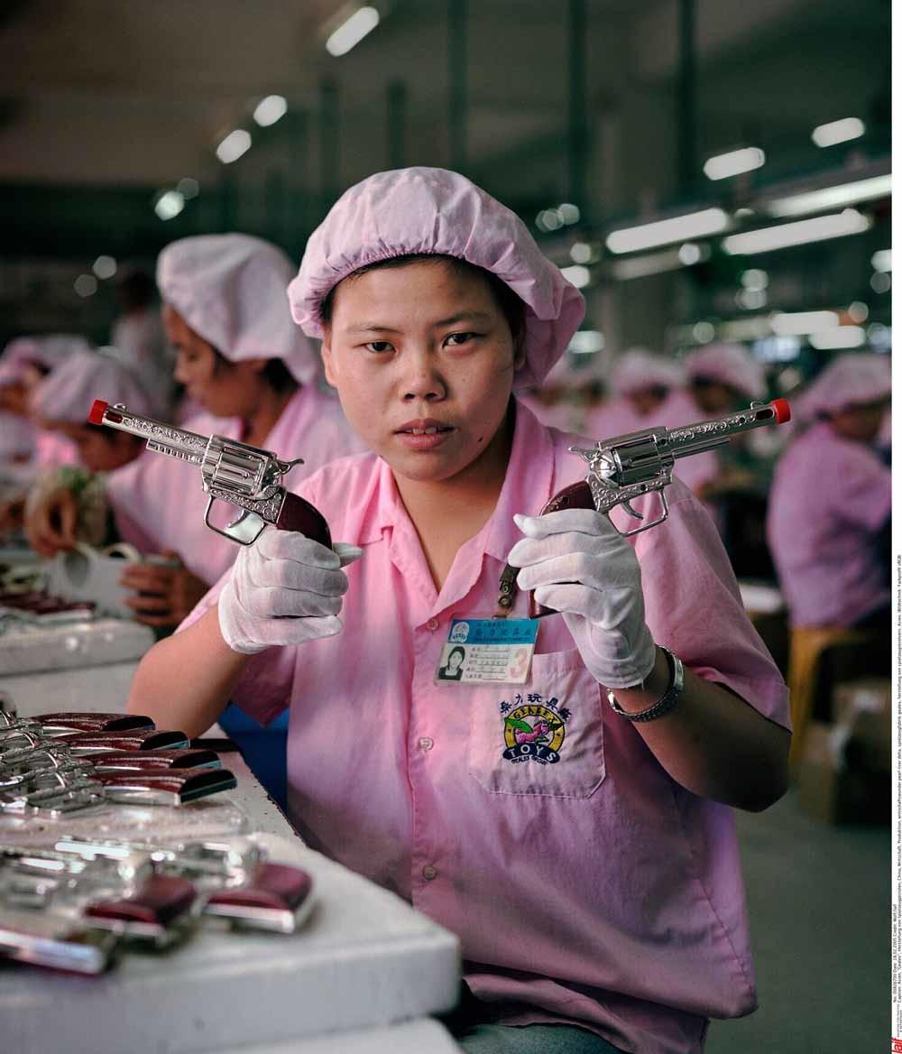 China produceert goedkoop speelgoed voor de hele wereld. – © HH